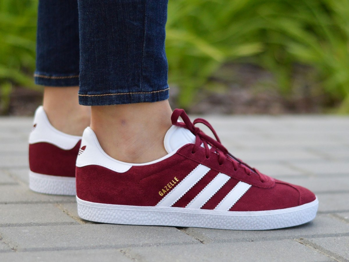 adidas gazelle junior grise